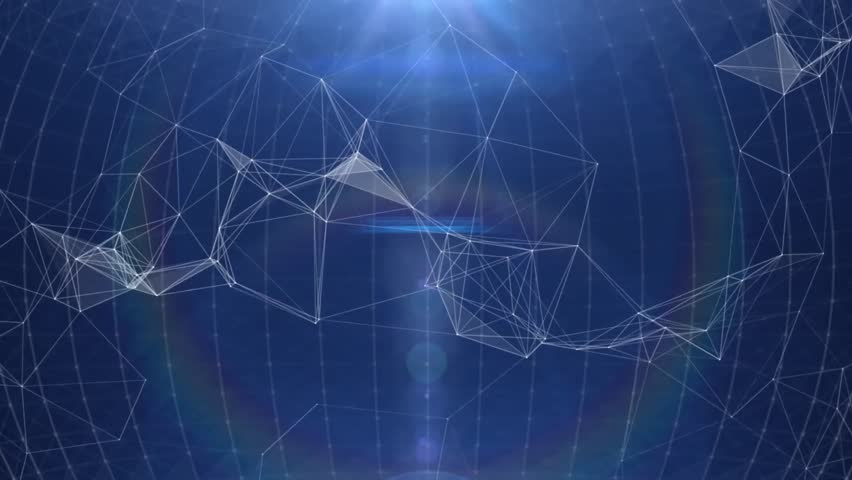 Plexus abstract technology and engineering background with original organic motion  | Shutterstock HD Video #31369816