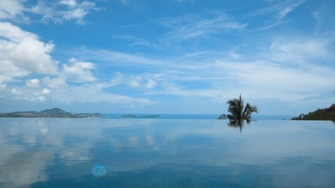 Infinity Swimming Pool with Sea View