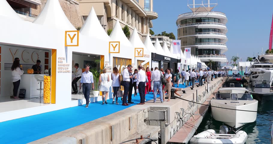Exhibition Stand Tenders : Monaco monte carlo  video of largest