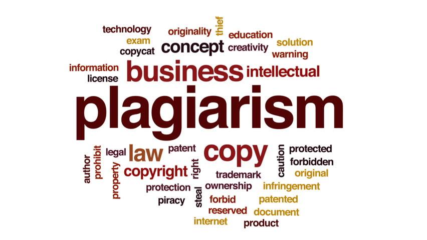 Header of plagiarism