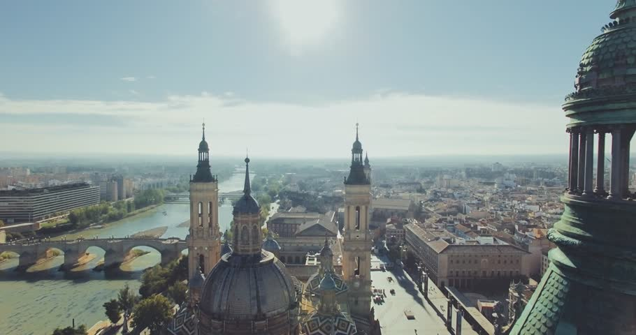 Cathedral of the Pillar, Zaragoza Spain, oct. 2018