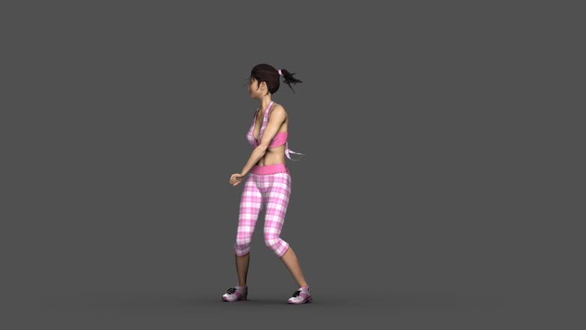 Dance Animation (mei Dancer)reggaeton Rnb Stock Footage Video (100%  Royalty-free) 3197854 | Shutterstock