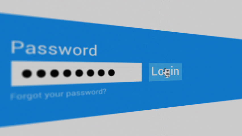 Typing Password Login Click Close-up Stock Footage Video (100%  Royalty-free) 32069914 | Shutterstock