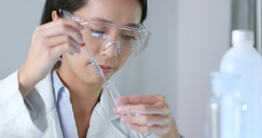 Serious scientist is doing her research | Shutterstock HD Video #32114224