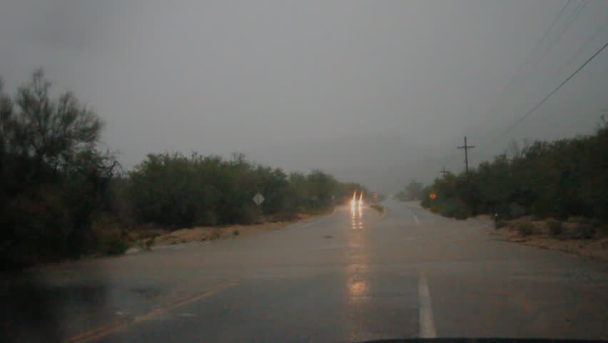 Arizona flash floods of July 14th near Tucson