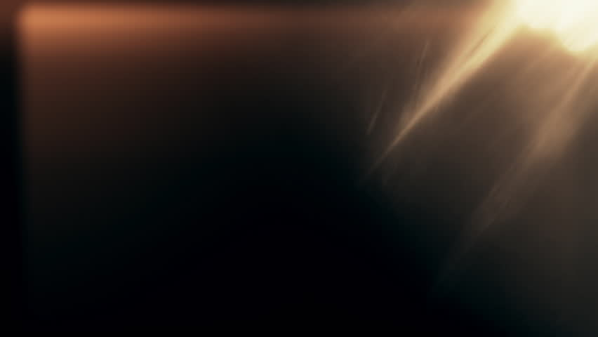 Light leaks effect background animation stock footage. Lens light leaks flashing around making an elegant abstract background animation.