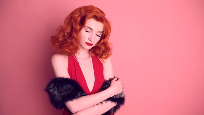 Redhead reife Retro