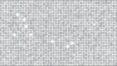 Crystal Glitter Light Background – seamless looping
