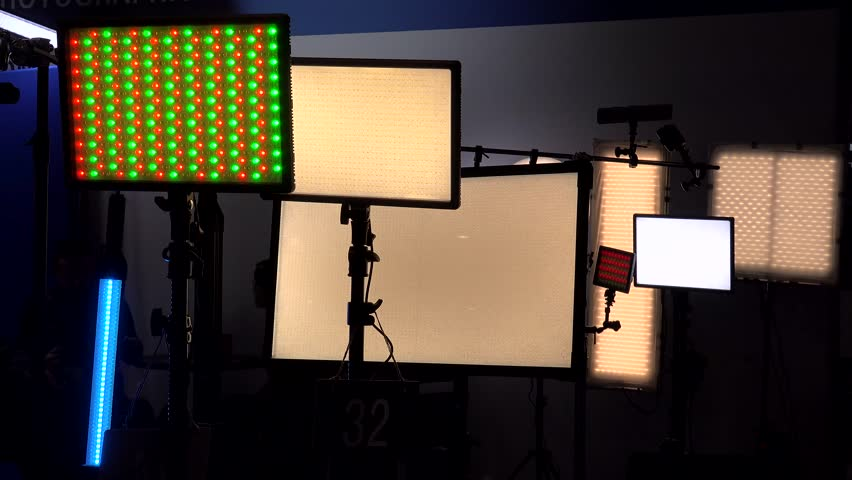 LED lighting equipment  | Shutterstock HD Video #32847259