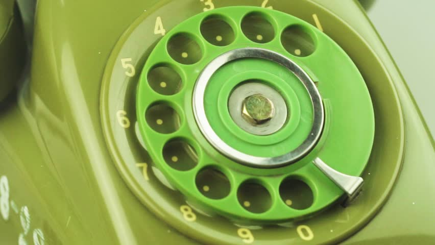 Close-up view on old telephone dial | Shutterstock HD Video #33065983