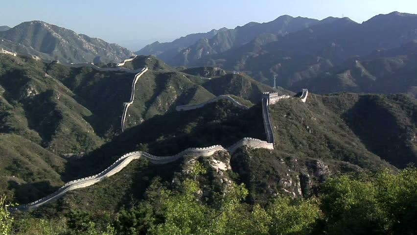 The Great Wall of China at Badaling #3315344