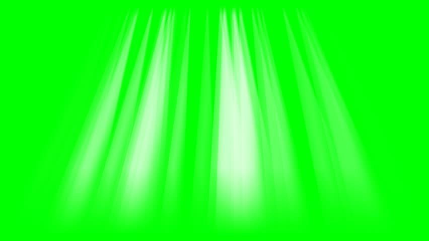 Rays of lights on green screen background animation. Beams light footage 4k video.   Shutterstock HD Video #33159034