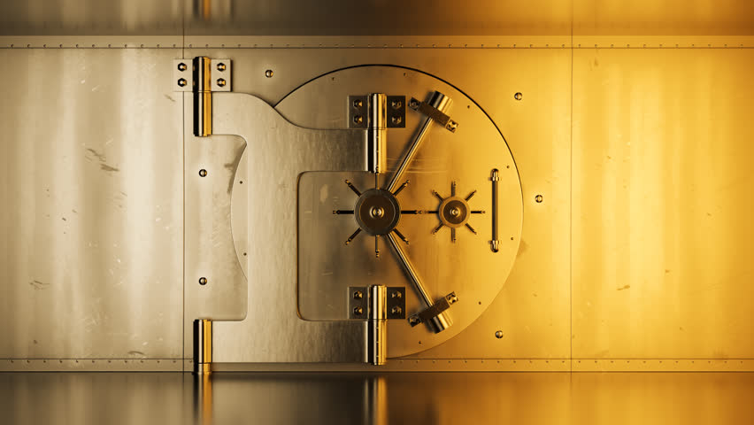 02996 Luxury Safety Vault In Bank