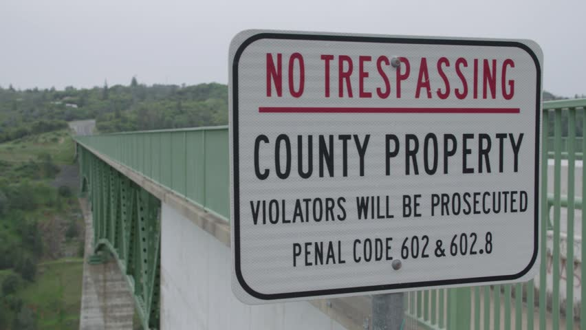 trespassing understanding property rights Did you know that occupying on private land protected by property rights is considered a trespass scope that entails property rights and trespassing.