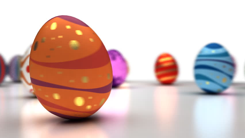 Easter Eggs Dancing