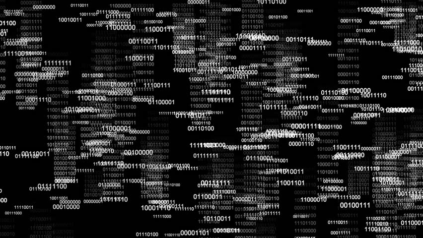 Binary Rain 8 Bit  Abstract Stock Footage Video (100% Royalty-free)  33415294 | Shutterstock