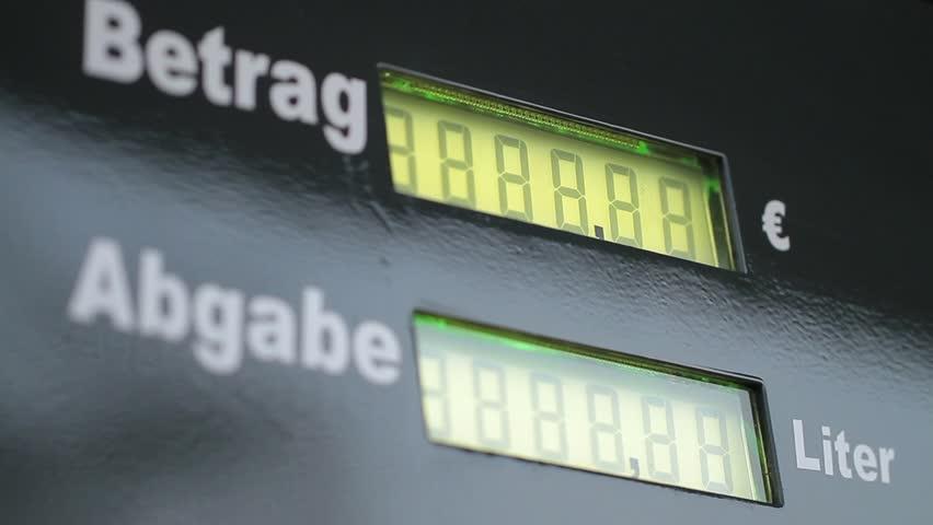 Fuel Pump Display (in German)