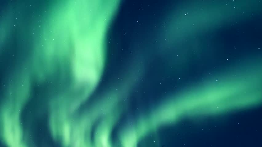Burning bright brilliant aurora borealis, FULL HD, Northern Lights on the Arctic sky, 1920x1080. Northern Lights Time lapse recording of beautiful northern lights, Northern lights (Aurora borealis).