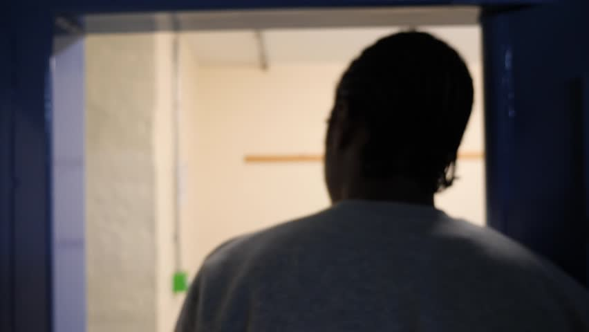 Prison shoot in UK, with some inmates   Shutterstock HD Video #33723874