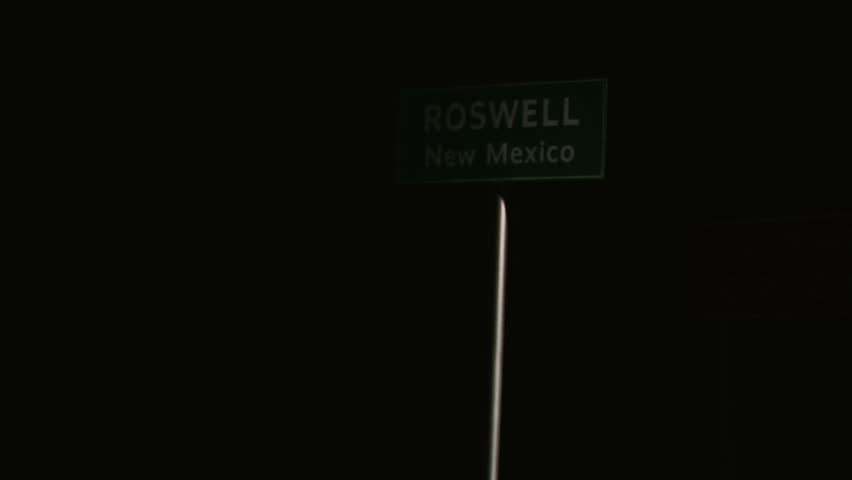 Roswell, Area 51, Military- Signs