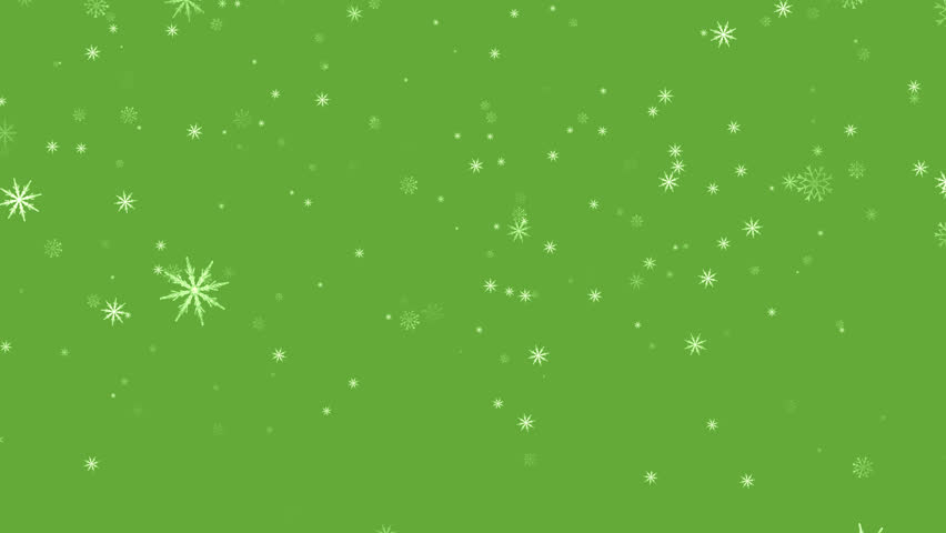 Snowflakes background.Falling Snowflakes Loop.Snow Background.Ice background. Background for media.Alpha channel. 4K animation.