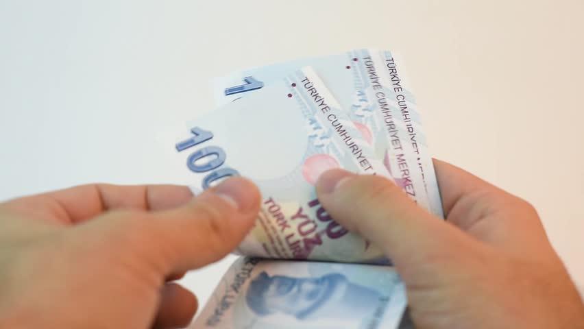Counting Turkish money | Shutterstock HD Video #34049344