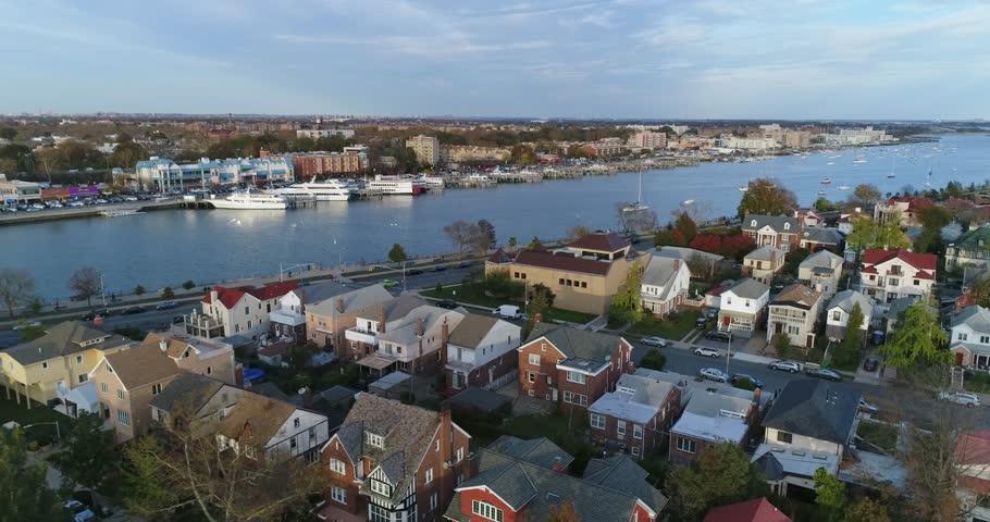 Sheepshead Bay NYC Brooklyn USA November 16 2017
