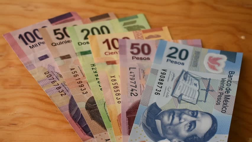 Counting Mexican Money Stock Footage Video (100% Royalty-free) 34478644 |  Shutterstock