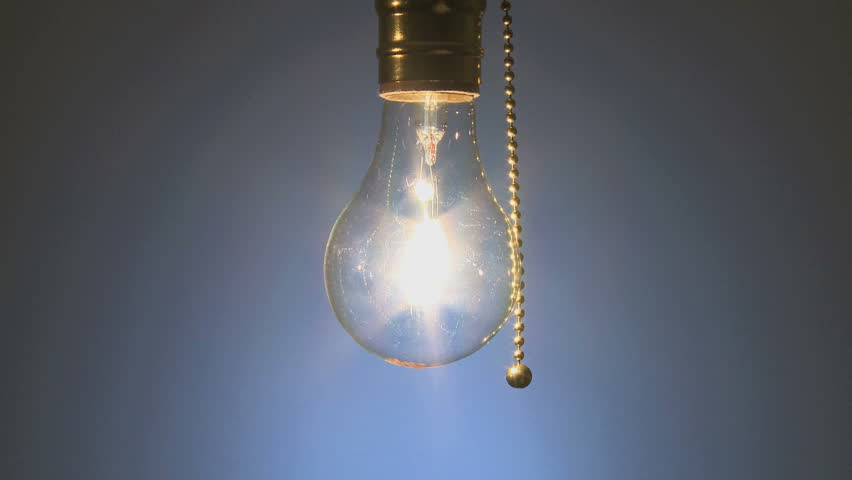Light Bulb Switched Off Stock Footage Video 100 Royalty Free