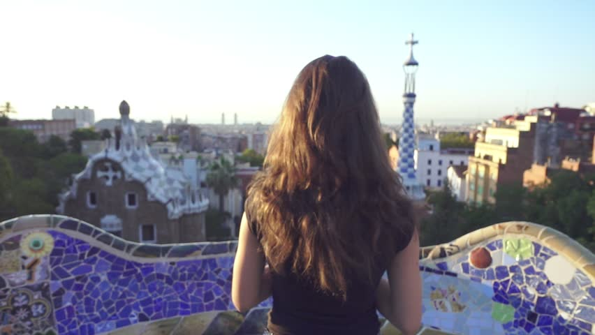 Anal Girl in Barcelona