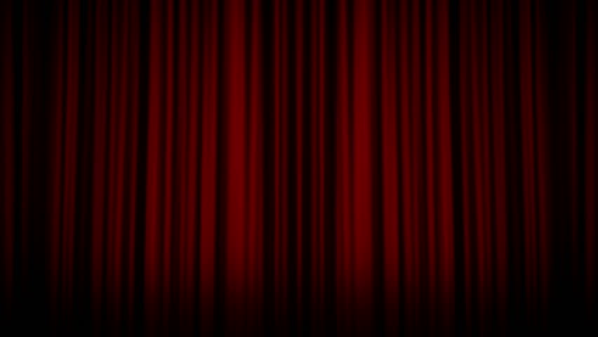 Hd0029Curtain And Show Time Text