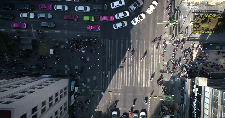 Cruce de personas, Mexico City, Timelapses | Shutterstock HD Video #34765024