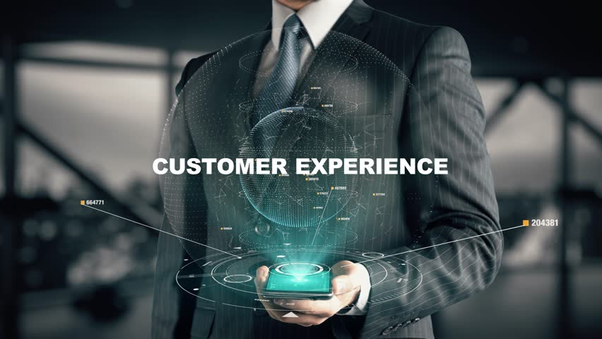 Businessman with Customer Experience