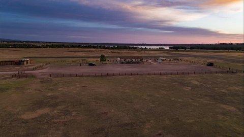 Sunrise Drone Flight at Chatfield Colorado State Park