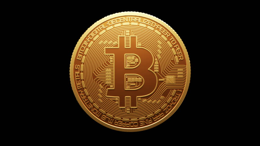 Rotate Bitcoin Gold Coin and Stock Footage Video (100% Royalty-free)  34912384 | Shutterstock