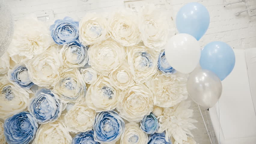 Making Childrens Holiday Balls Blue Stock Footage Video 100 Royalty Free 34933444 Shutterstock