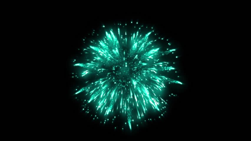 Super Firework Emerald, Holliday, Celebration, New Year, The 4th of July, Christmas, Festival | Shutterstock HD Video #34981804