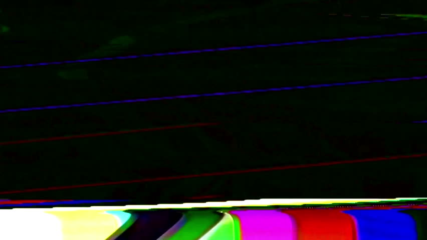 Analog Abstract Video Signal Noise FeedBack Manipulation | Shutterstock HD Video #35015734