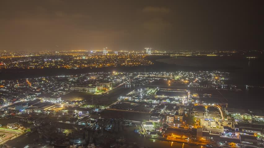 Jakarta at night timelapse | Shutterstock HD Video #35041084
