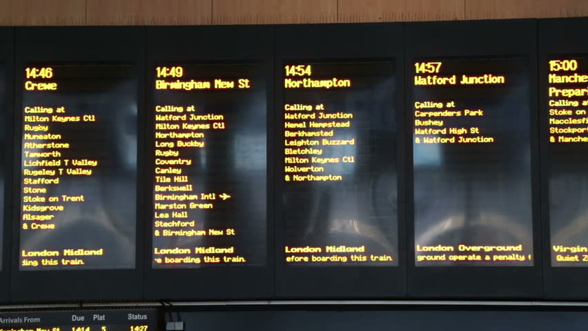 train times from northampton to london euston
