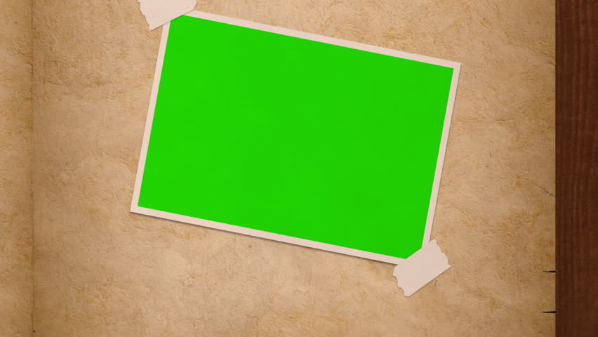 Computer-rendered animation of  turning photo album pages with green screen windows.  | Shutterstock HD Video #3617102