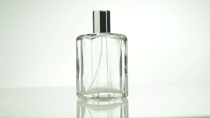 Men perfume. Bottle spray in rotation