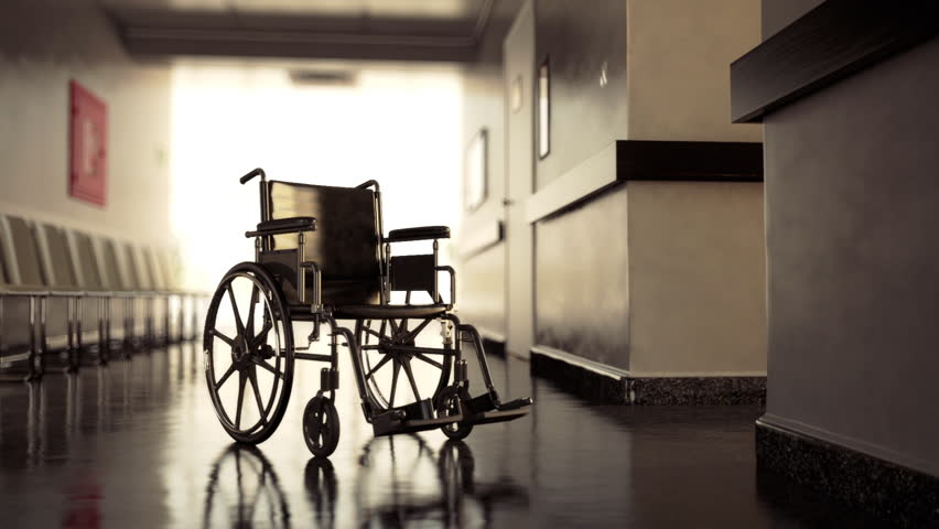 Standard manual wheelchairs are the most frequently used wheelchair. | Shutterstock HD Video #3633470