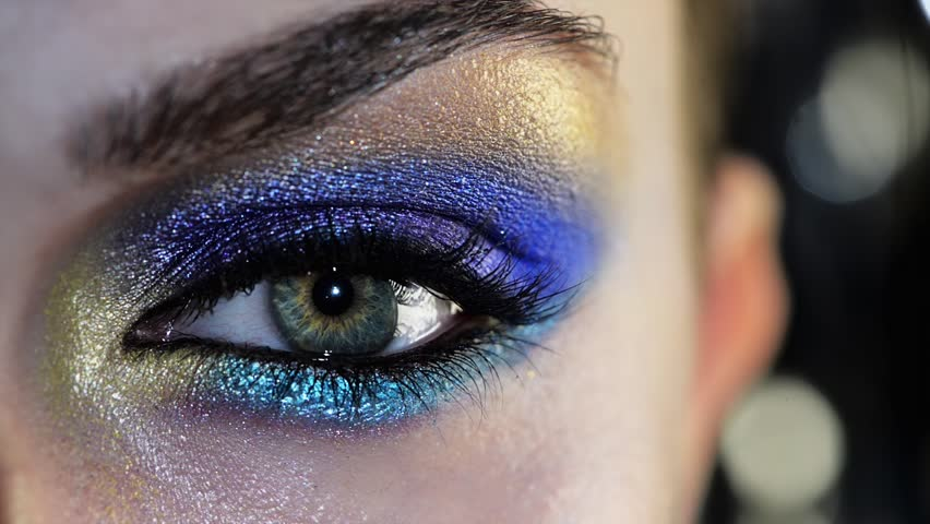 Human eye close up macro   Shutterstock HD Video #3662444
