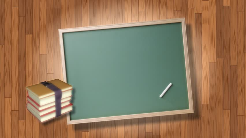 educational cgi animated background with a green