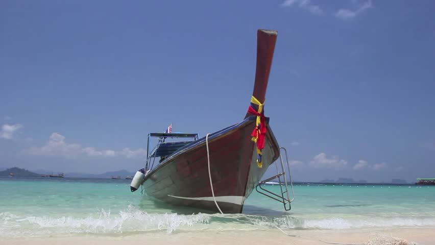 Long tailed boat,Thailand