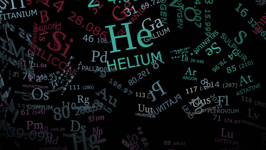 Stock Video Of Periodic Table Science Background With 3d | 3775934 |  Shutterstock