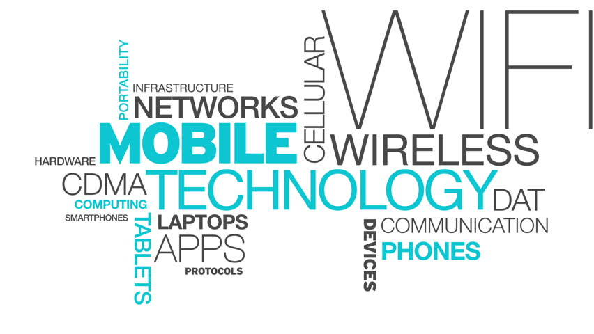 Mobile Technology Word Cloud Animation | Shutterstock HD Video #3777251