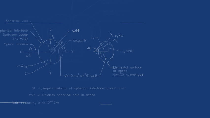 High definition abstract cgi motion backgrounds ideal for editing physics formulas write on blueprint fly through background hd stock footage clip malvernweather Gallery