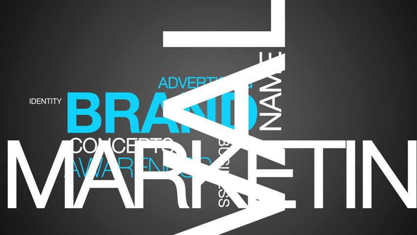 Brand Word Cloud Animation | Shutterstock HD Video #3799262